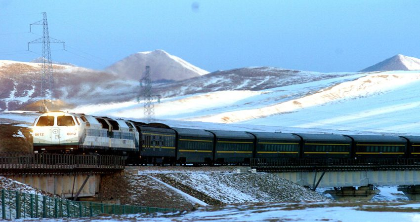 Tibet Train Tour Photo