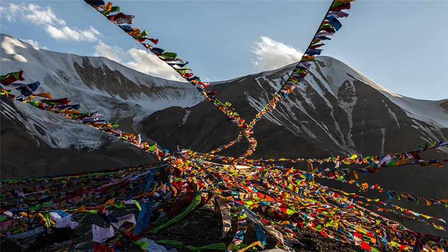 Amnye Machen Mountain in Qinghai