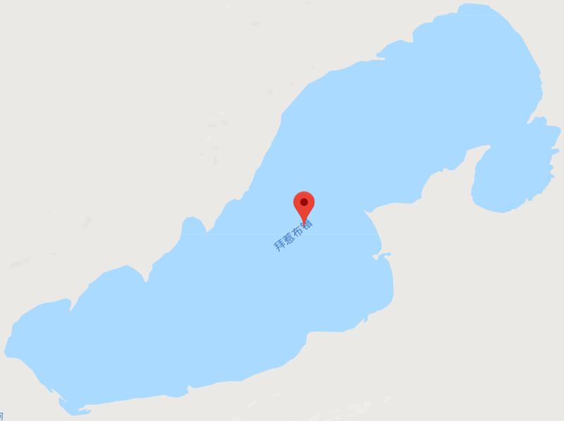 Bairebu Tso Lake in Gerze County, Ngari