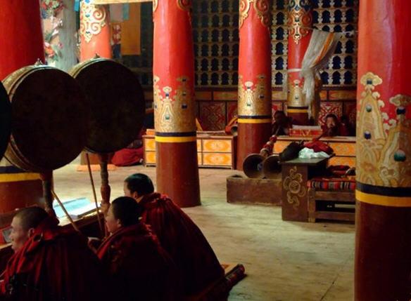 Chazang Monastery in Xaitongmoin County, Shigatse