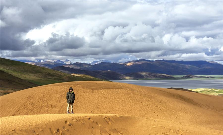 Colorful Desert in Dinggyê County, Shigatse