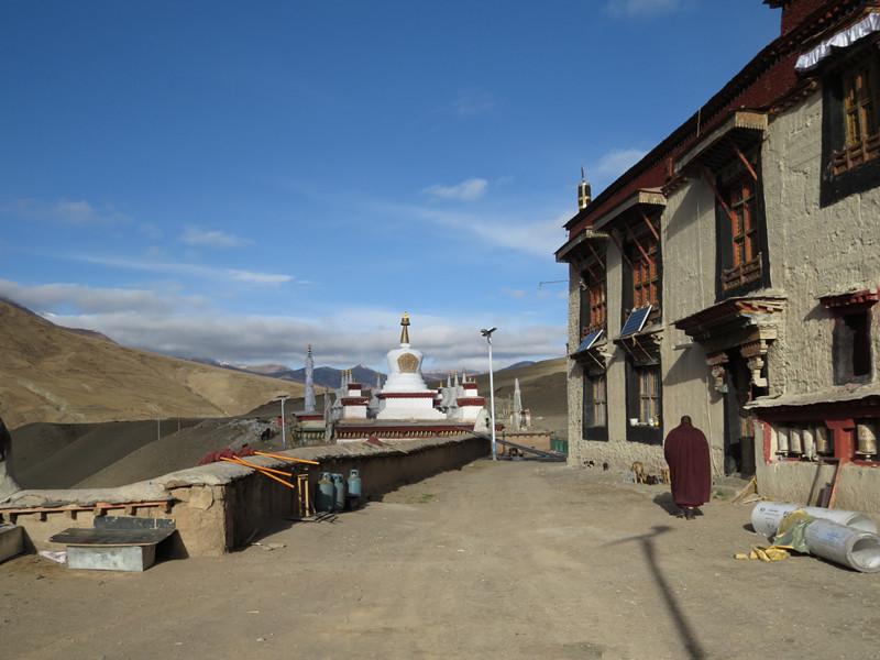 Damusi Monastery in Biru County, Nagqu