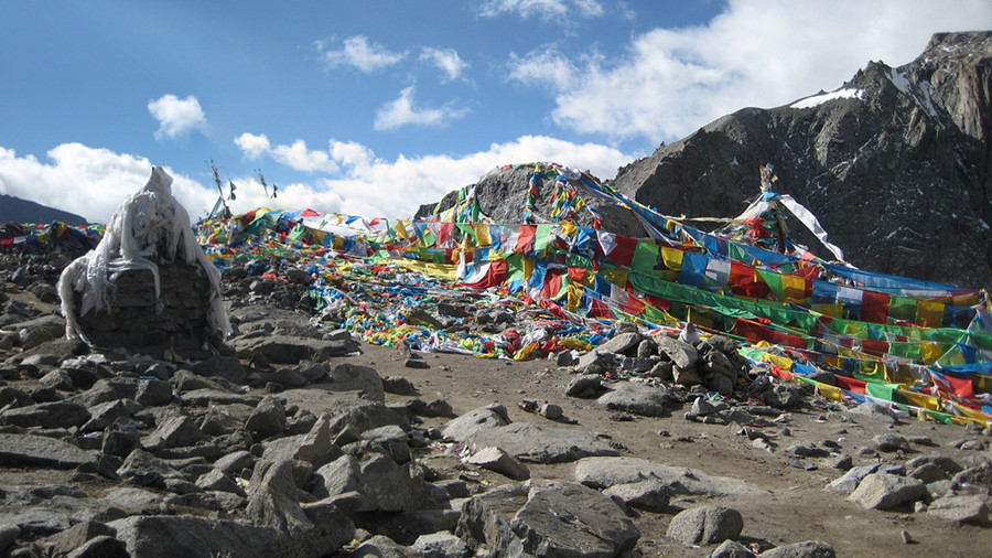 Dolma La Pass of Mount Kailash in Nagri