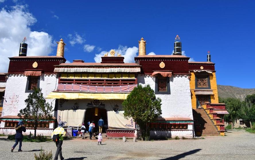 Dratang Monastery in Zhanang County, Lhoka (Shannan)