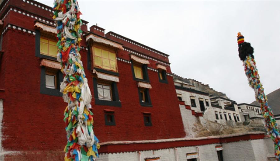 Gedeng Qukuolin Temple in Namling County, Shigatse