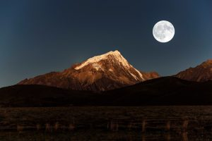 Genyen Massif Mountain in Litang County, Garze