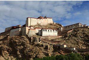 Gyantse Fortress in Gyantse County, Shigatse