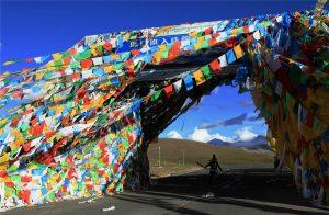 Gyatso La Mountain Pass in Tingri County, Shigatse
