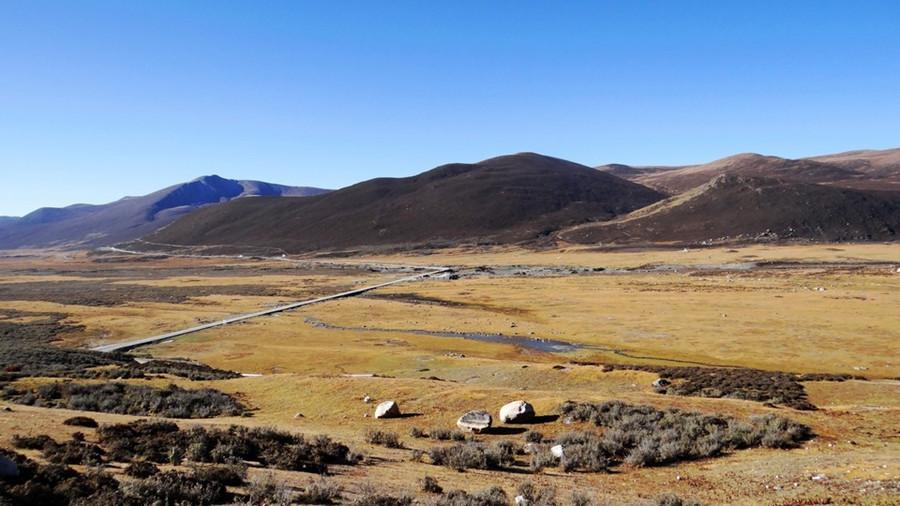 Haizi Mountain between Daocheng and Litang Counties, Garze