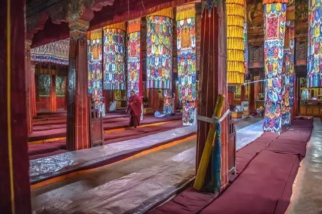 Jiang Qulin Monastery in Quxu County, Lhasa