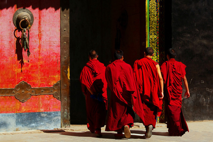 Jiga Qude Monastery in Nyemo County, Lhasa