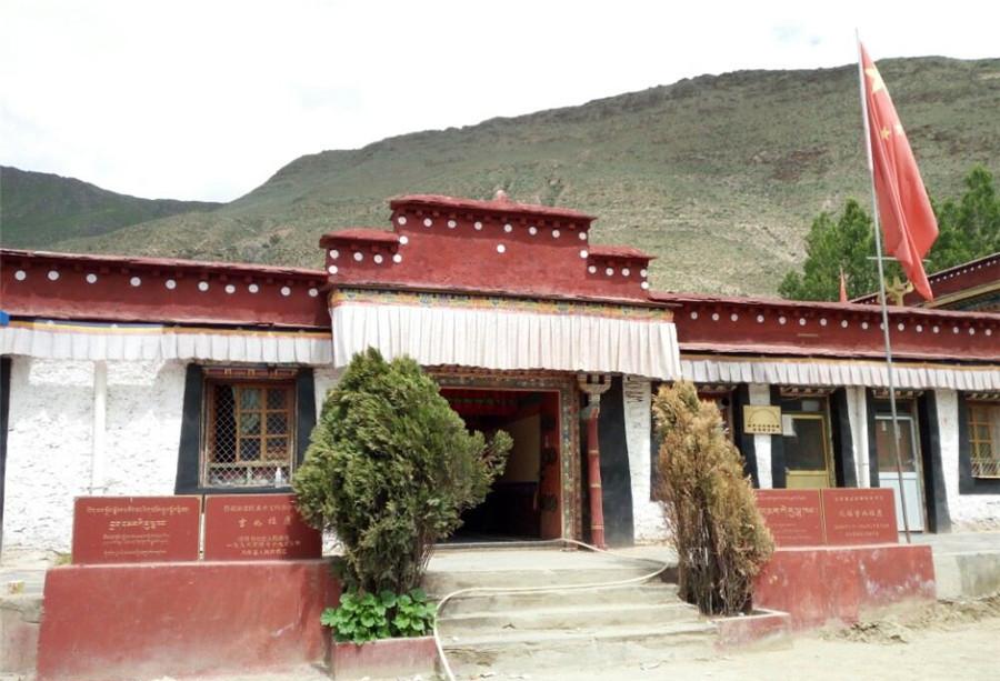 Jiru lakang Temple in Nedong District, Shannan