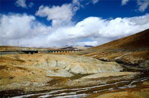 Kunlun Mountain Pass in Golmud, Qinghai