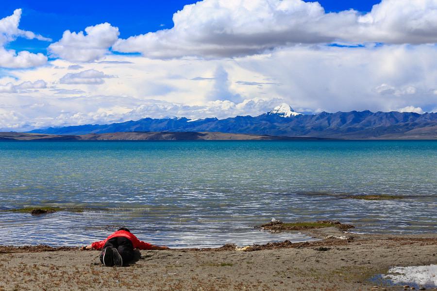 Lake Manasarovar, Ngari Tibet-40