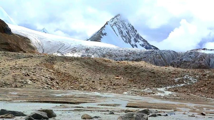 Laqing Xiqiong Holy Mountain in Saga County, Shigatse