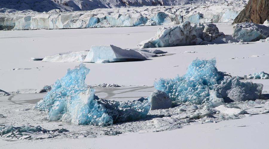 Lhegu Glacier in Baxoi County, Qamdo
