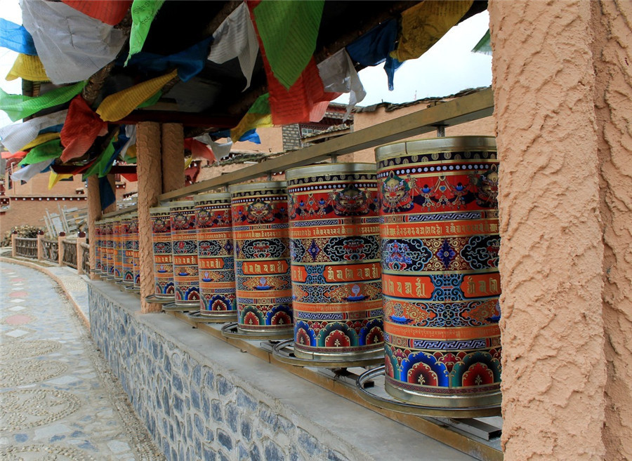 Litang Monastery in Litang County, Garze