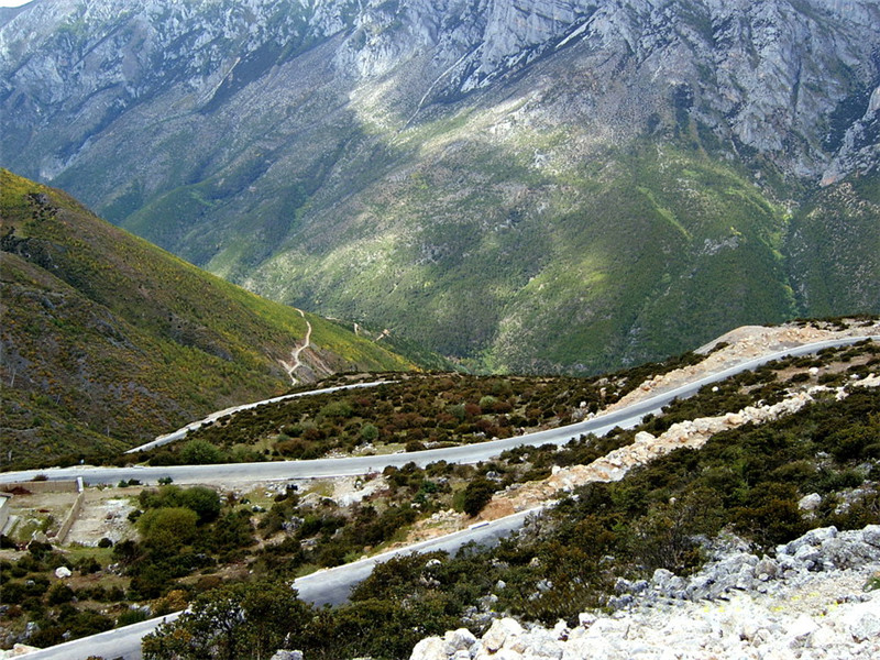 Maanshan Mountain in Xiangcheng County, Garze