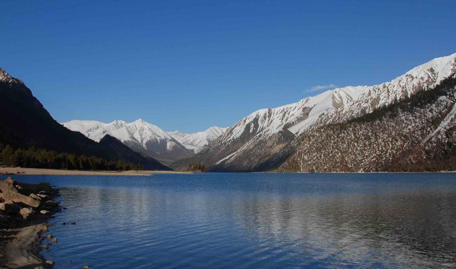 Menmo Zhaga Mountain Range in Baqen County, Nagqu