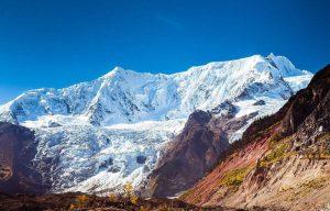 Midui Glacier in Bome County, Nyingchi