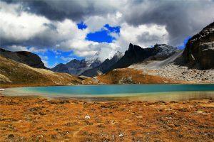 Milk Lake of Yading Nature Reserve in Daocheng County, Garze