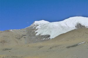 Mount Nyenchen Khangsar in Gyangze County, Shigatse