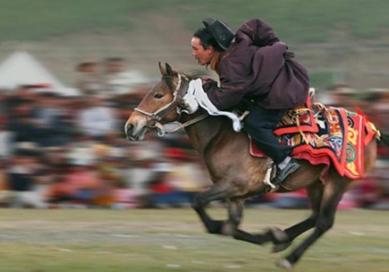 Nagqu Racecourse in Seni District, Nagqu