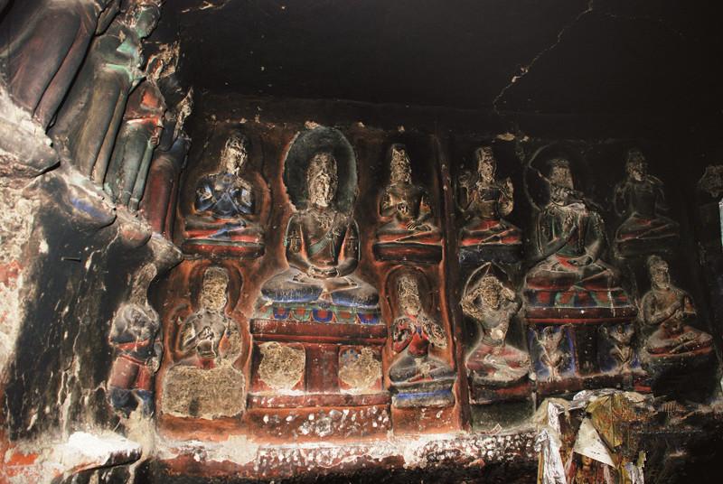 Naijiaqiemu Cave Temple in Gamba County, Shigatse
