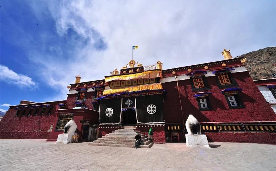 Nenang Monastery in Doilungdeqen District, Lhasa