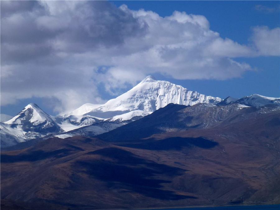 Noijin Kangsang Peak in Shigatse