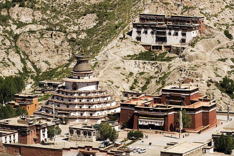 Pelkor Chode Monastery in Gyangze County, Shigatse