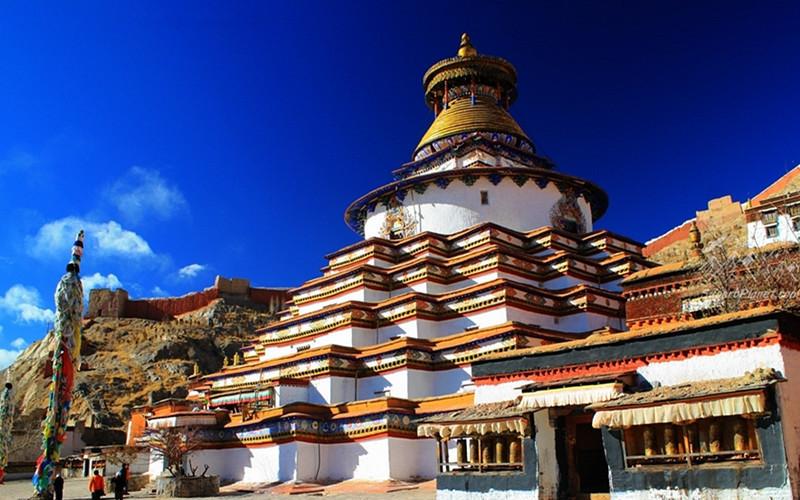 Kumbum Stupa of Palcho Monastery in Gyantse County, Shigatse