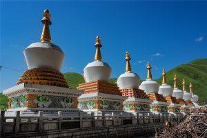 Palyul Monastery in Baiyu County, Garze