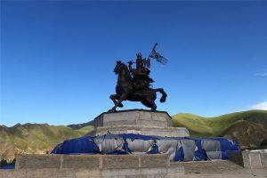 Princess Wencheng Temple in Yushu City