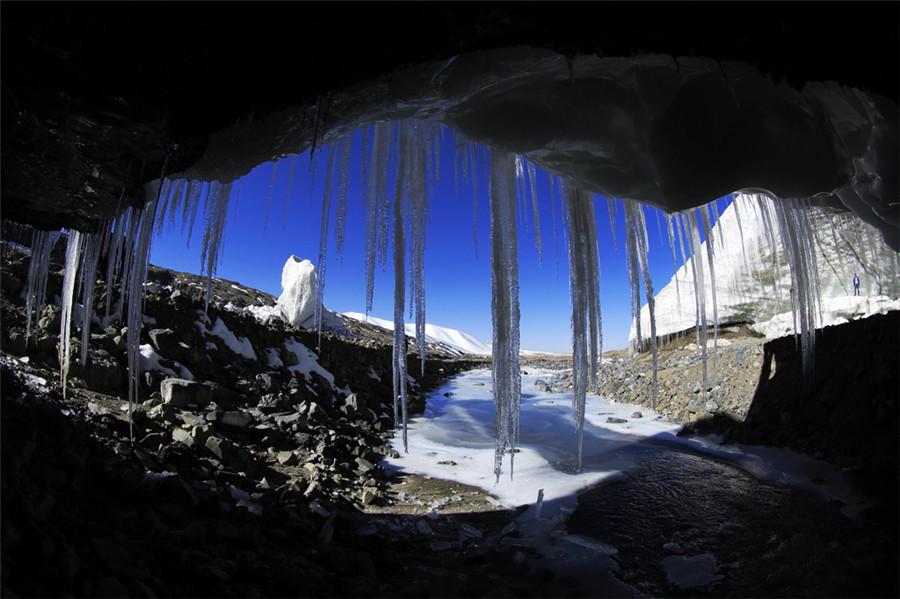 Purog Kangri Glacier in Shuanghu County, Nagqu