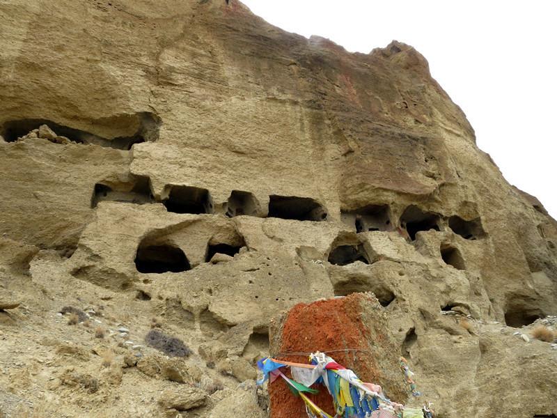 Qiangmu Grottoes in Dinggyê County, Shigatse