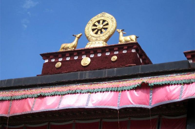Qudiannima Temple in Gamba County, Shigatse