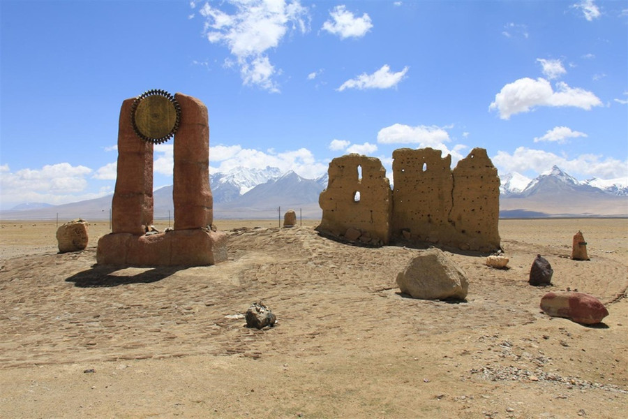 Qumei Xionggu Site in Yadong County, Shigatse