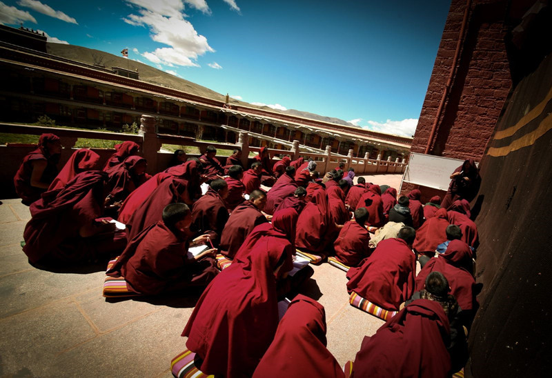 Sakya Monastery in Sagya County, Shigatse