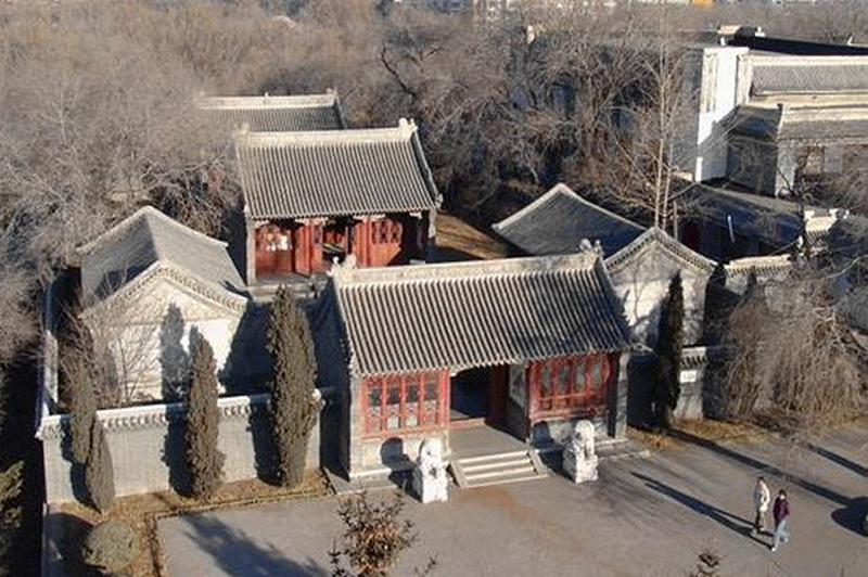 Sangha Guduo Monastery in Lhozhag County, Lhoka (Shannan)