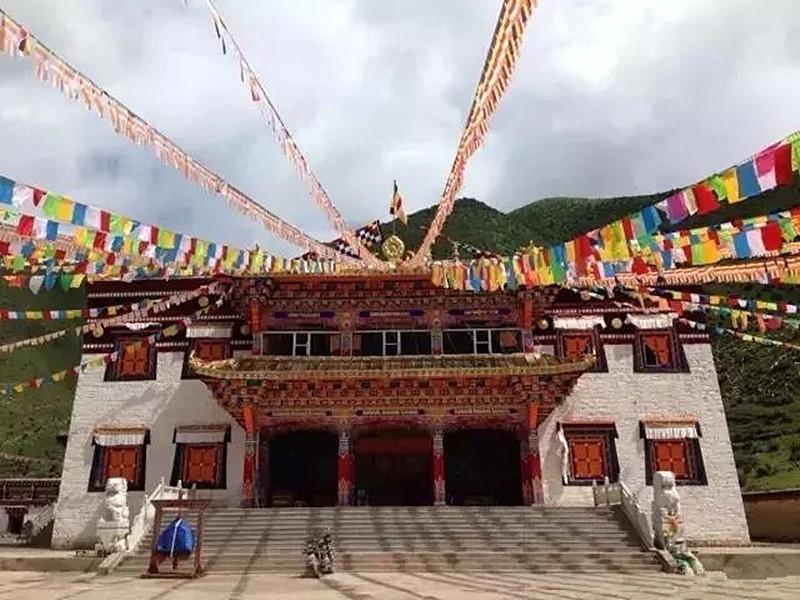 Sangzhusi Monastery in Garze County, Garze