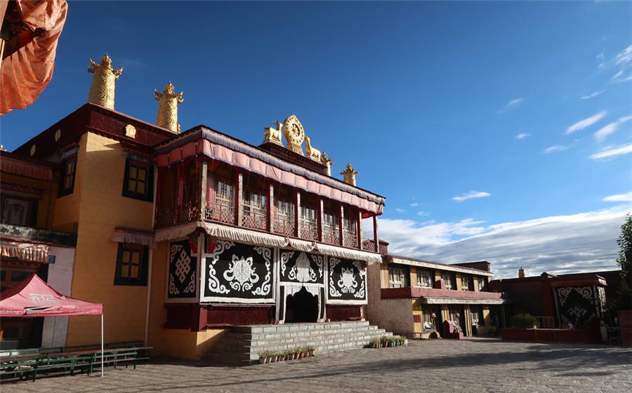 Shadruling Monastery in Konggar County, Lhoka (Shannan)