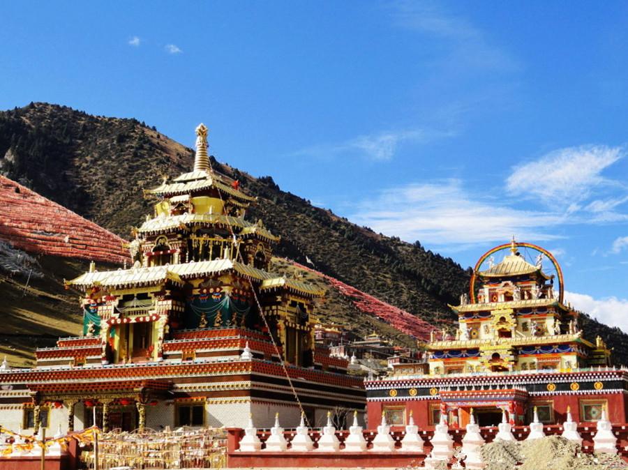 Shechen Monastery in Dege County, Garze
