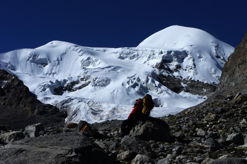 Tangla'angqu Peak in Damxung, Lhasa