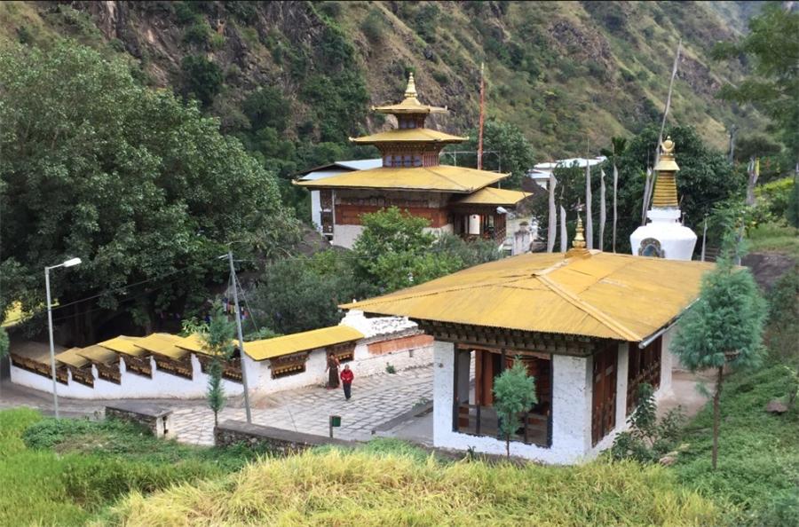 Tashigang Village in Bayi District, Nyingchi