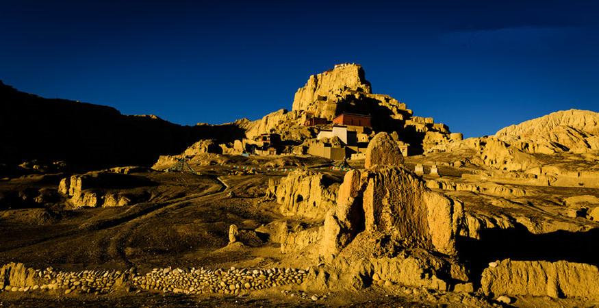 The Site of Ancient Guge Kingdom in Zanda County, Ngari