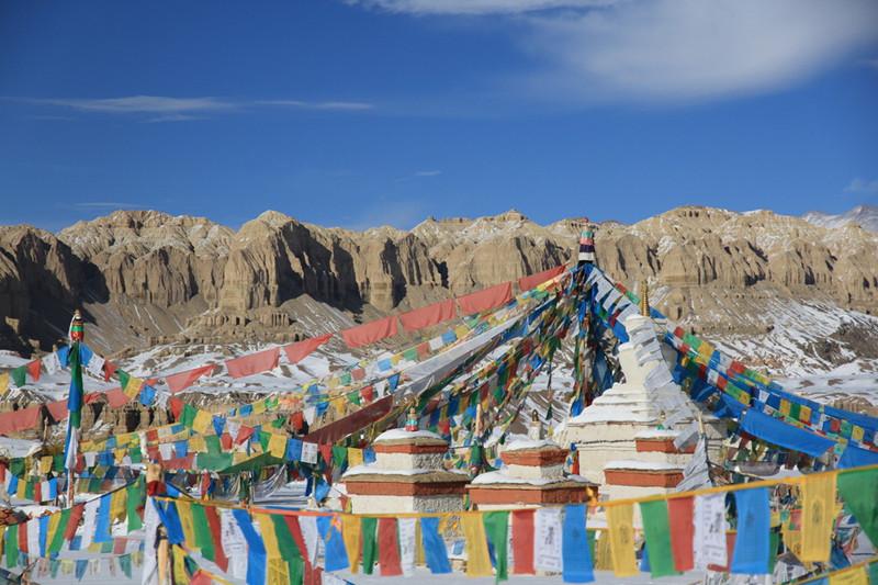 Tholing Monastery in Zanda County, Ngari