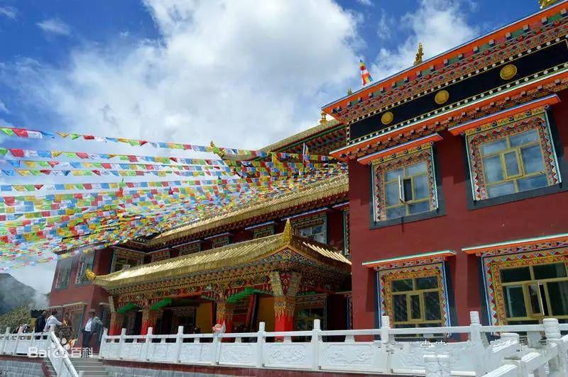 Thrangu Monastery in Yushu City