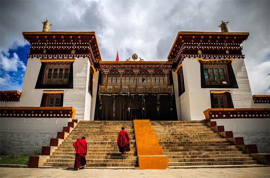 Tuka Monastery in Zogang County, Chamdo