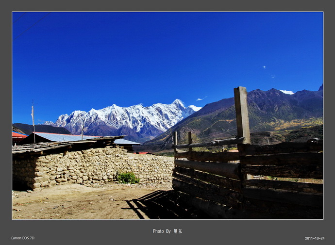 Wujianguru Monastery in Xaitongmoin County, Shigatse